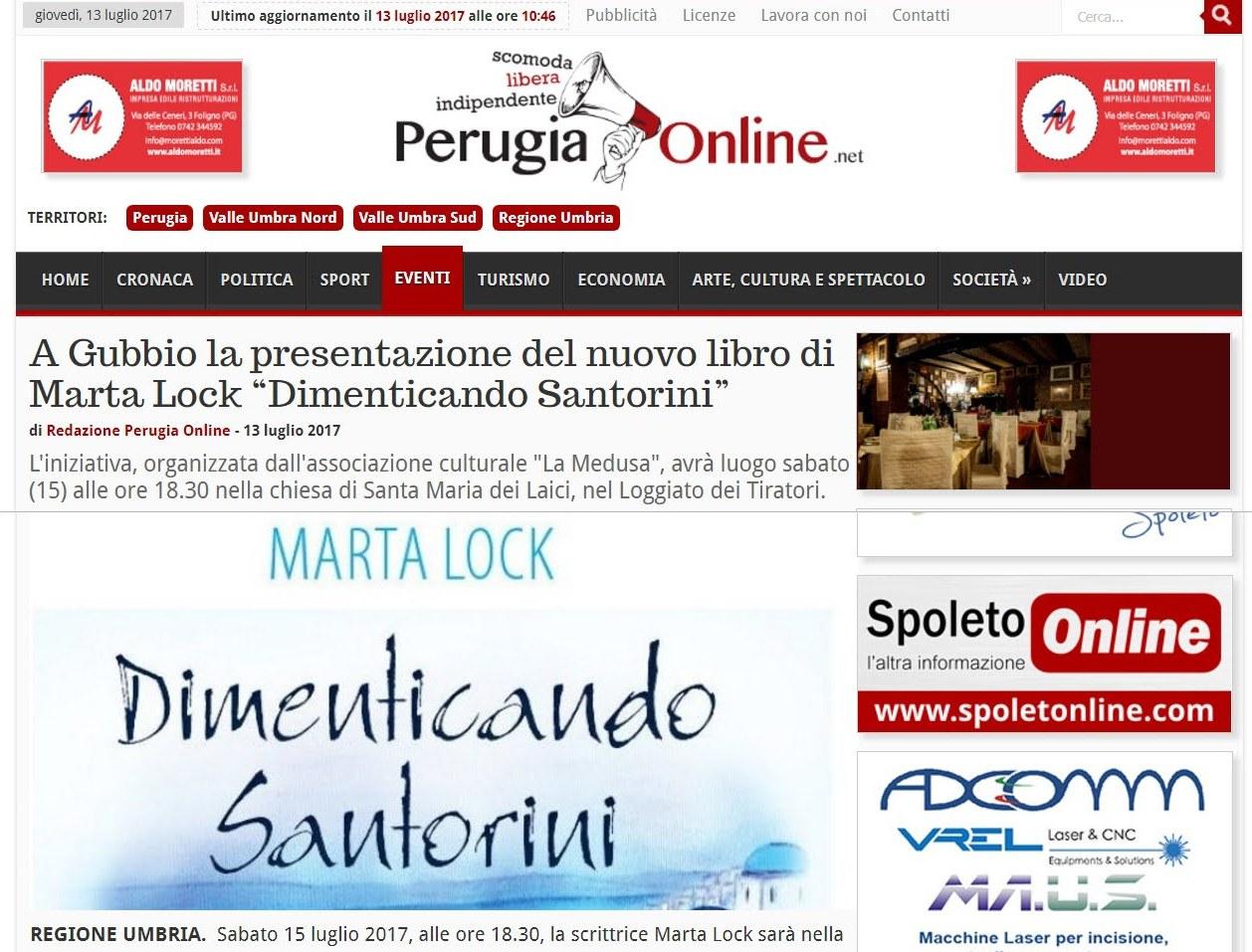 Perugia on line