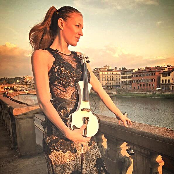L'Angolo di Marta Lock: Il violino pop-rock di Elsa Violin