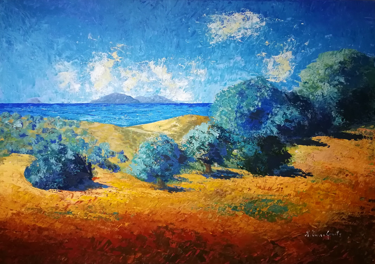Maria Teresa Giunta, atmosfere impressioniste su scorci mediterranei