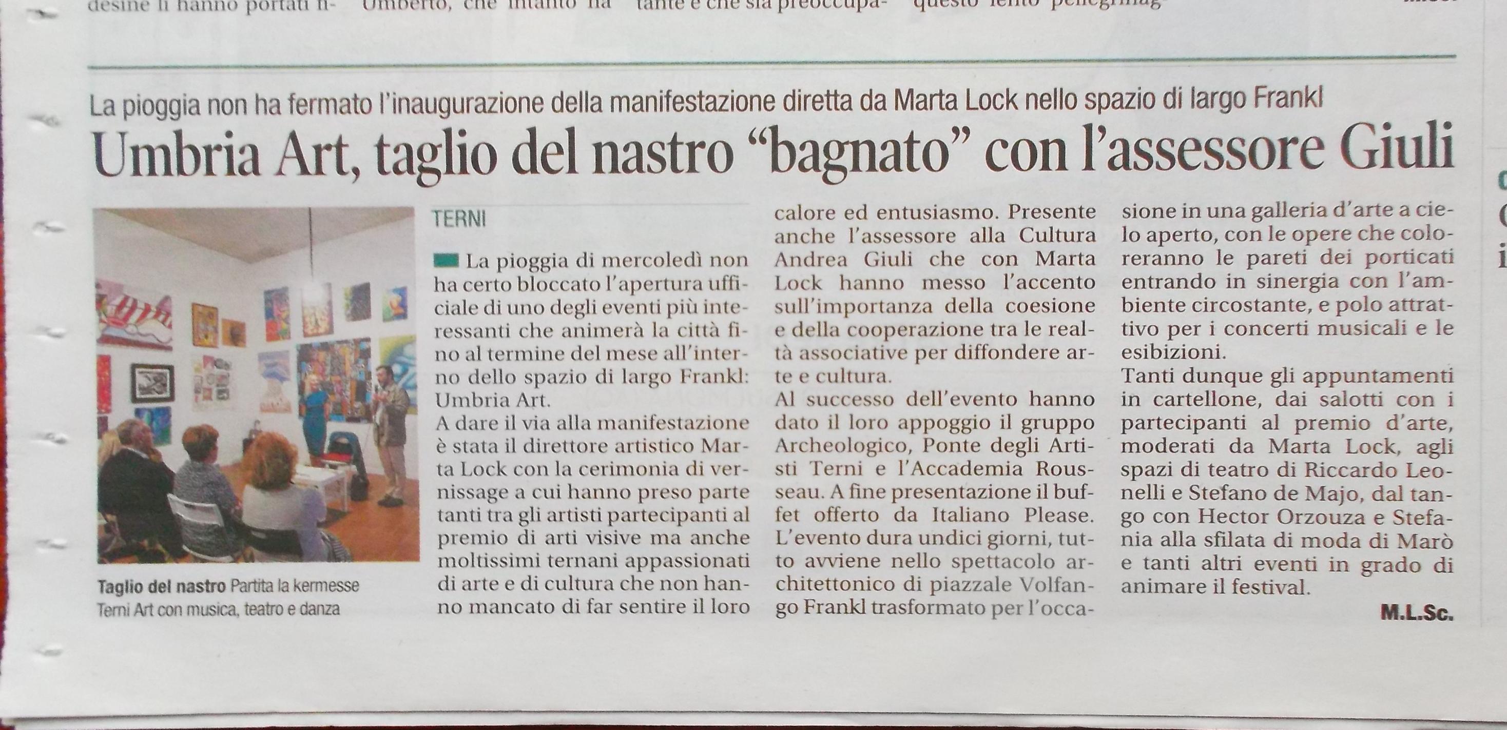 Il Corriere dell'Umbria