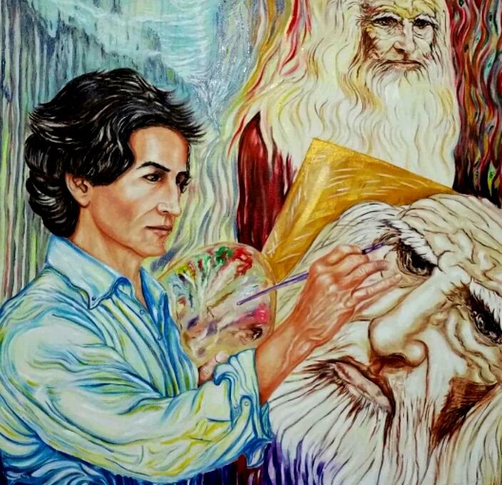 L'Angolo di Marta Lock: L'Espressionismo Fauve dell'anima di Samer Kassem