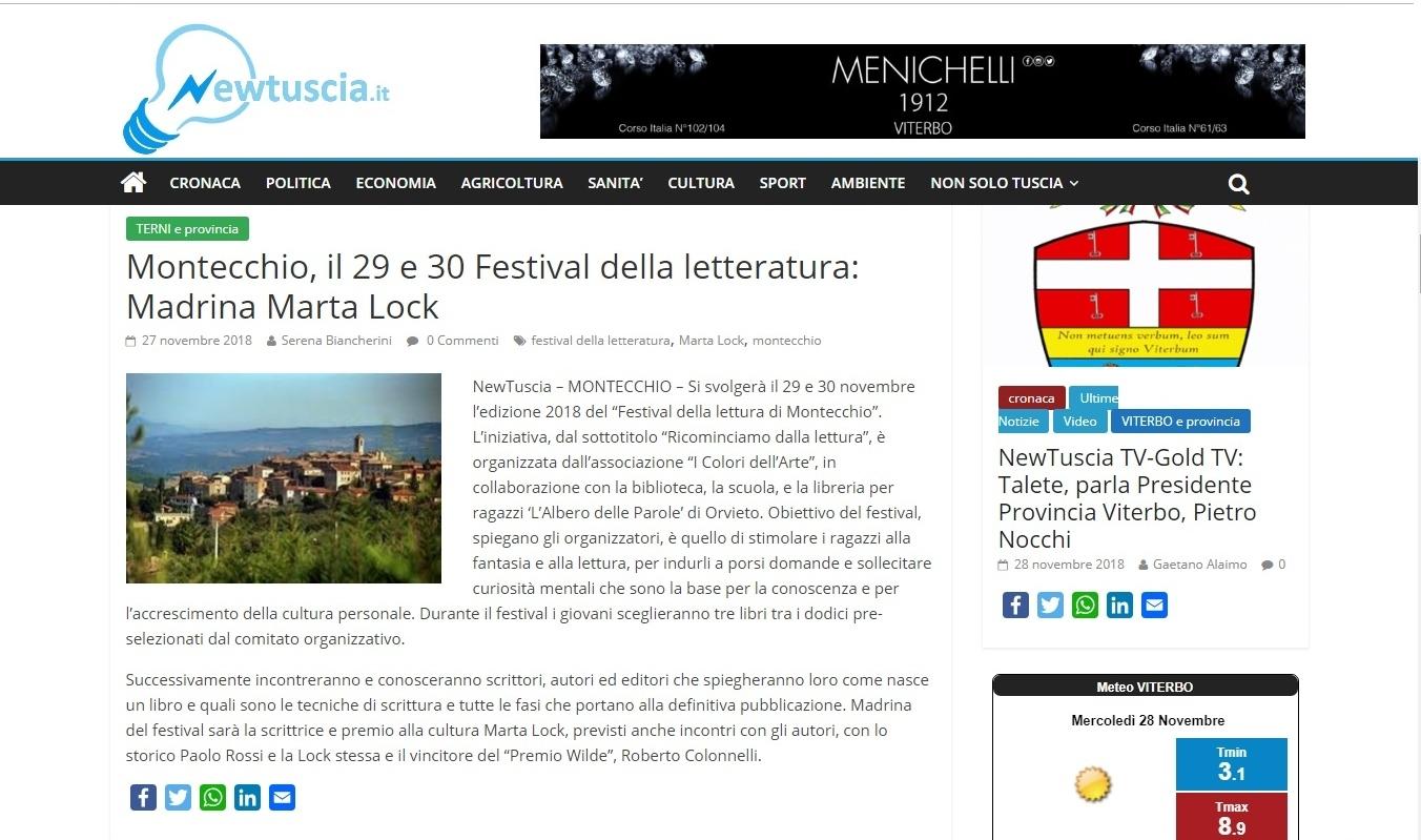 Articolo NewTuscia 28-11-18