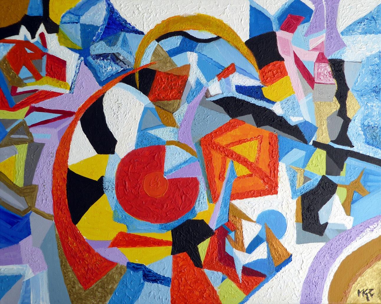 L'Angolo di Marta Lock: I mille colori dell'Astratto per raccontare la gioia di vivere di Mariagrazi