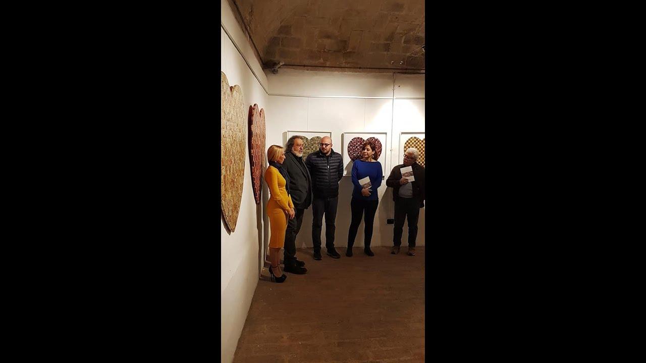 Presentazione critica alla personale di Fabio Masotti a Gubbio 06-04-2019