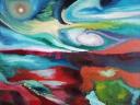 L'Angolo di Marta Lock: L'essenza della realtà trasformata in colore nelle opere di Mila Mecchia