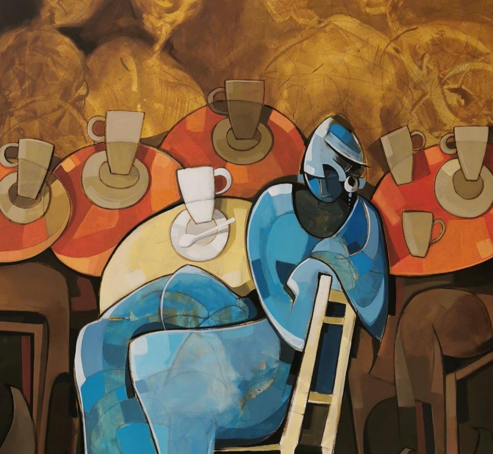L'Angolo di Marta Lock (IE): Gioia di vivere e raffinate atmosfere conviviali nel Neocubismo di Jabe