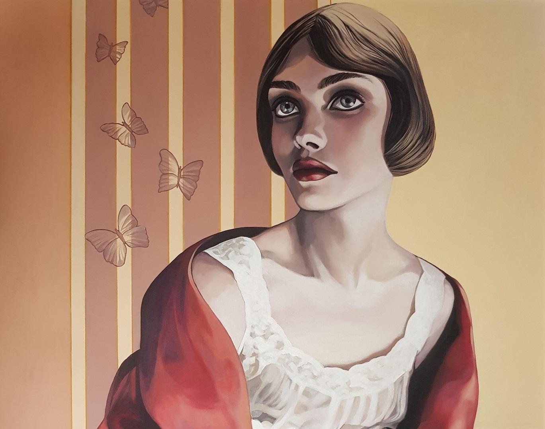 L'Angolo di Marta Lock: Ornella De Rosa, Art Decò e dolcezza per raccontare l'incanto delle donne