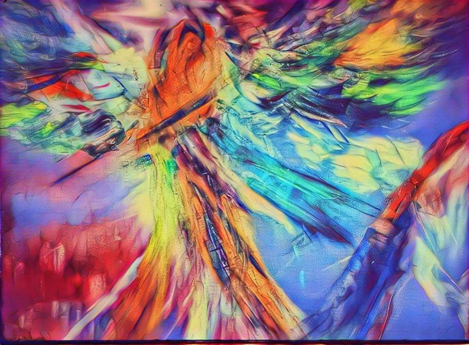 L'Angolo di Marta Lock (IE): Audrey Keenan, quando l'Espressionismo Astratto diventa manifestazione