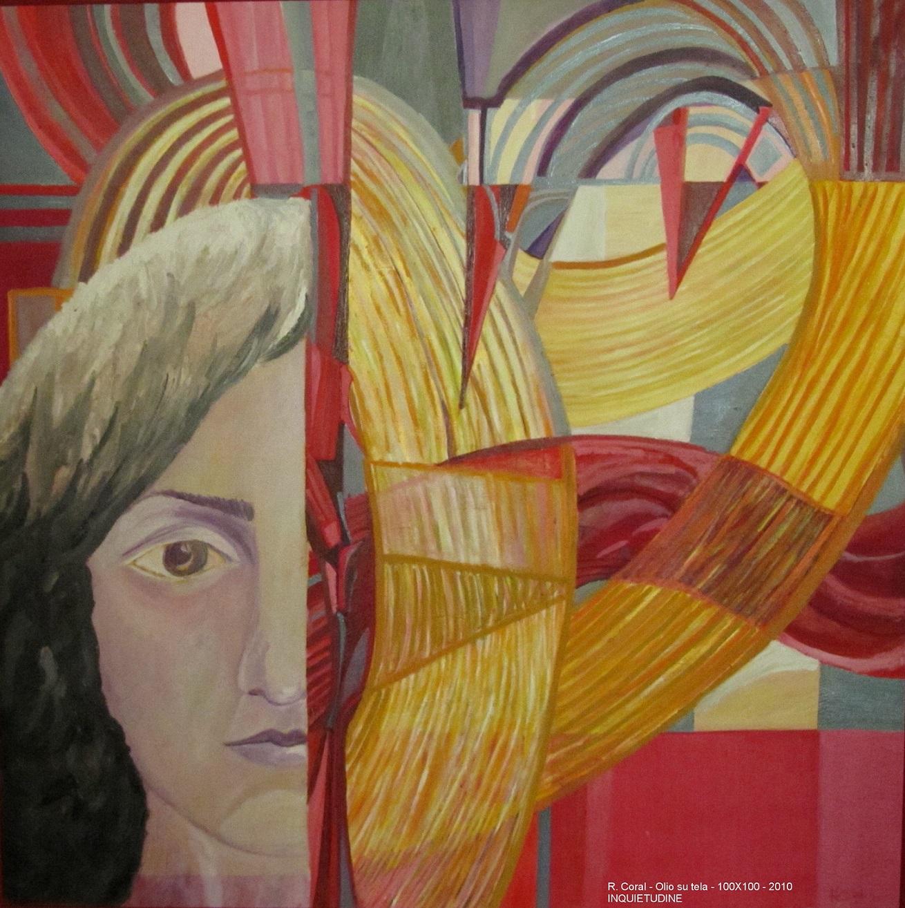 L'Angolo di Marta Lock: Roberta Coral, tra Futurismo e Cubismo Orfico per osservare le inquietudini