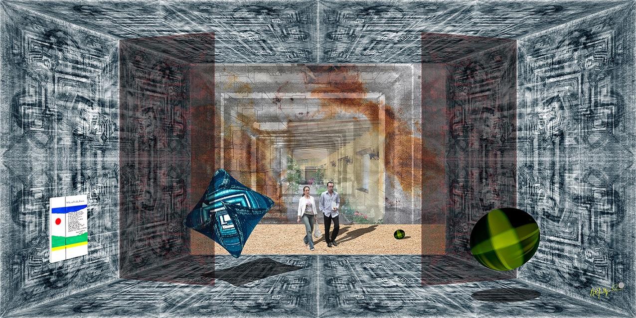 L'Angolo di Marta Lock: Alfonso Caputo, tra Metafisica e Digital Art per svelare le stratificazioni