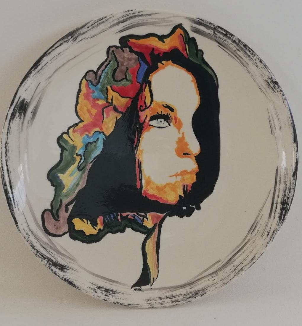 L'Angolo di Marta Lock: Nunzia Romeo, tra cammei in ceramica ed espressione del sentire interiore