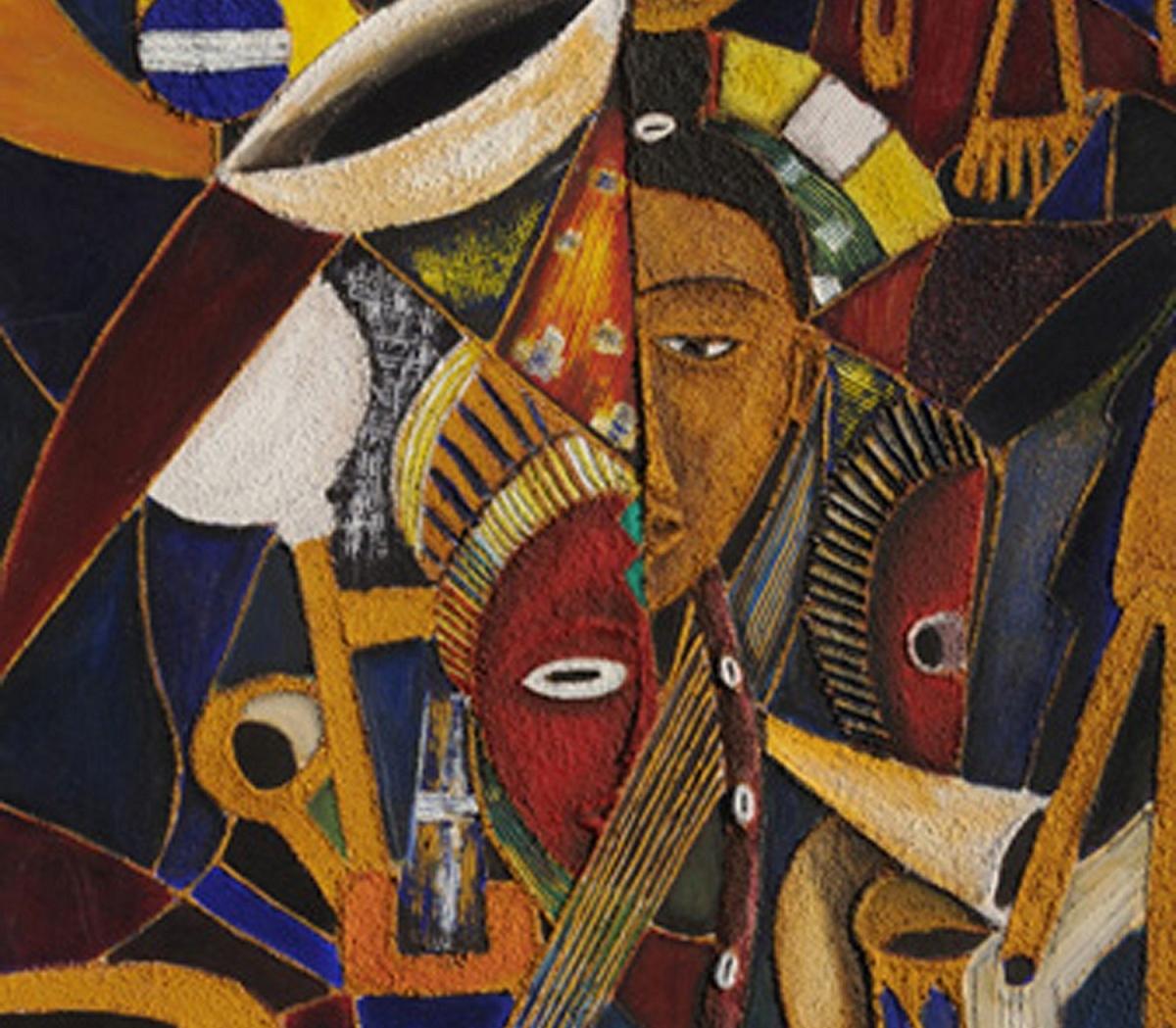 L'Angolo di Marta Lock (IE): Tradizione e nostalgia nei bassorilievi cubisti di Laurent Tia