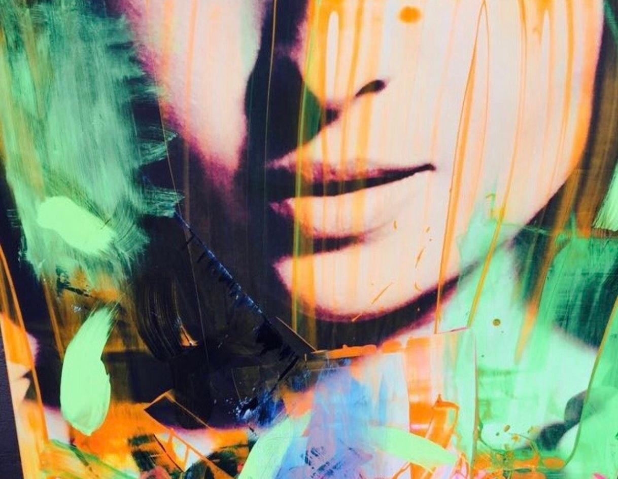 L'Angolo di Marta Lock (IE): Tocchi pittorici che trasformano le immagini nelle opere Neo Pop di Dan