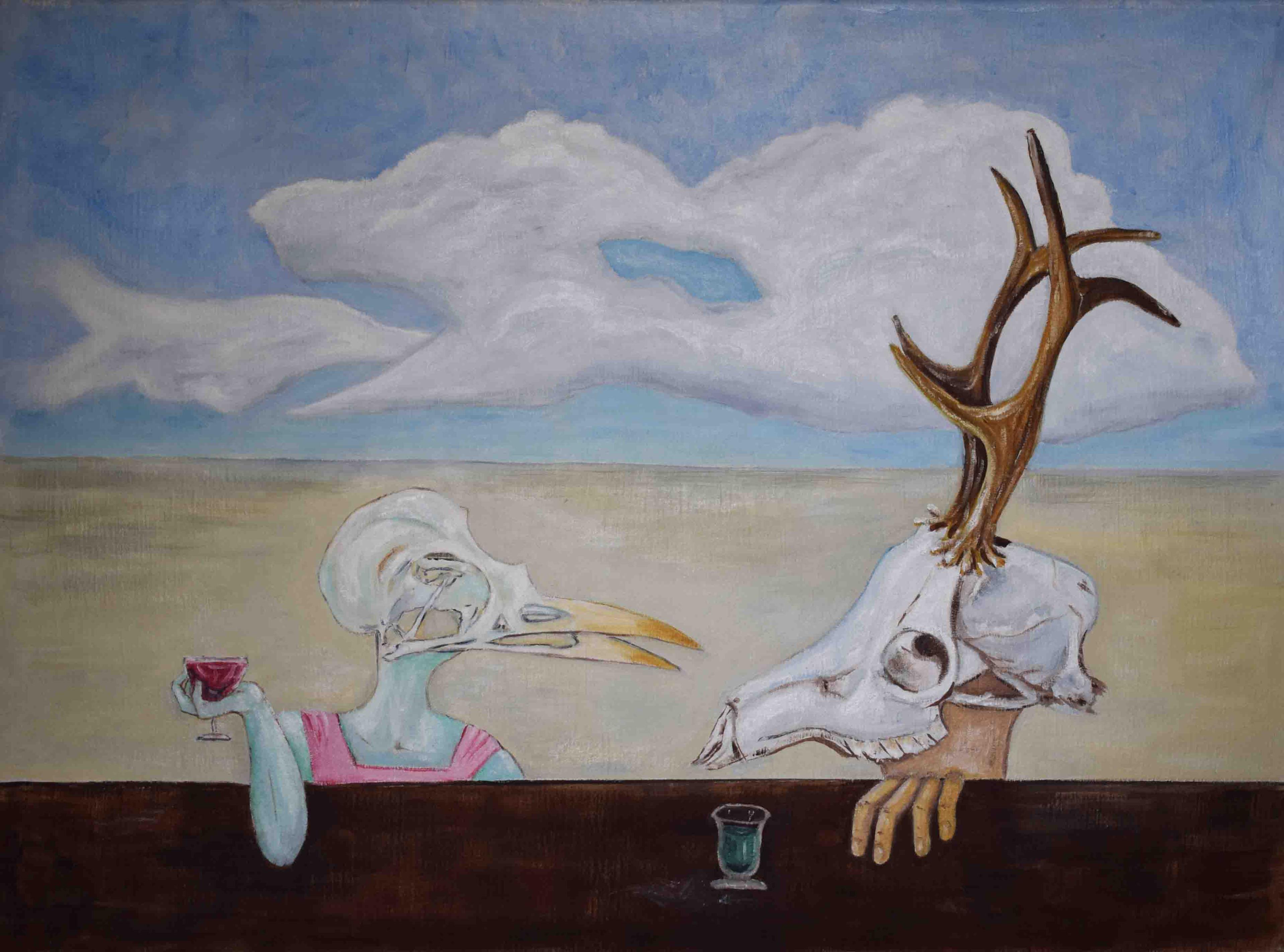L'Angolo di Marta Lock (IE): Anneli Di Francis, tra Surrealismo e Metafisica per indagare l'ignoto e