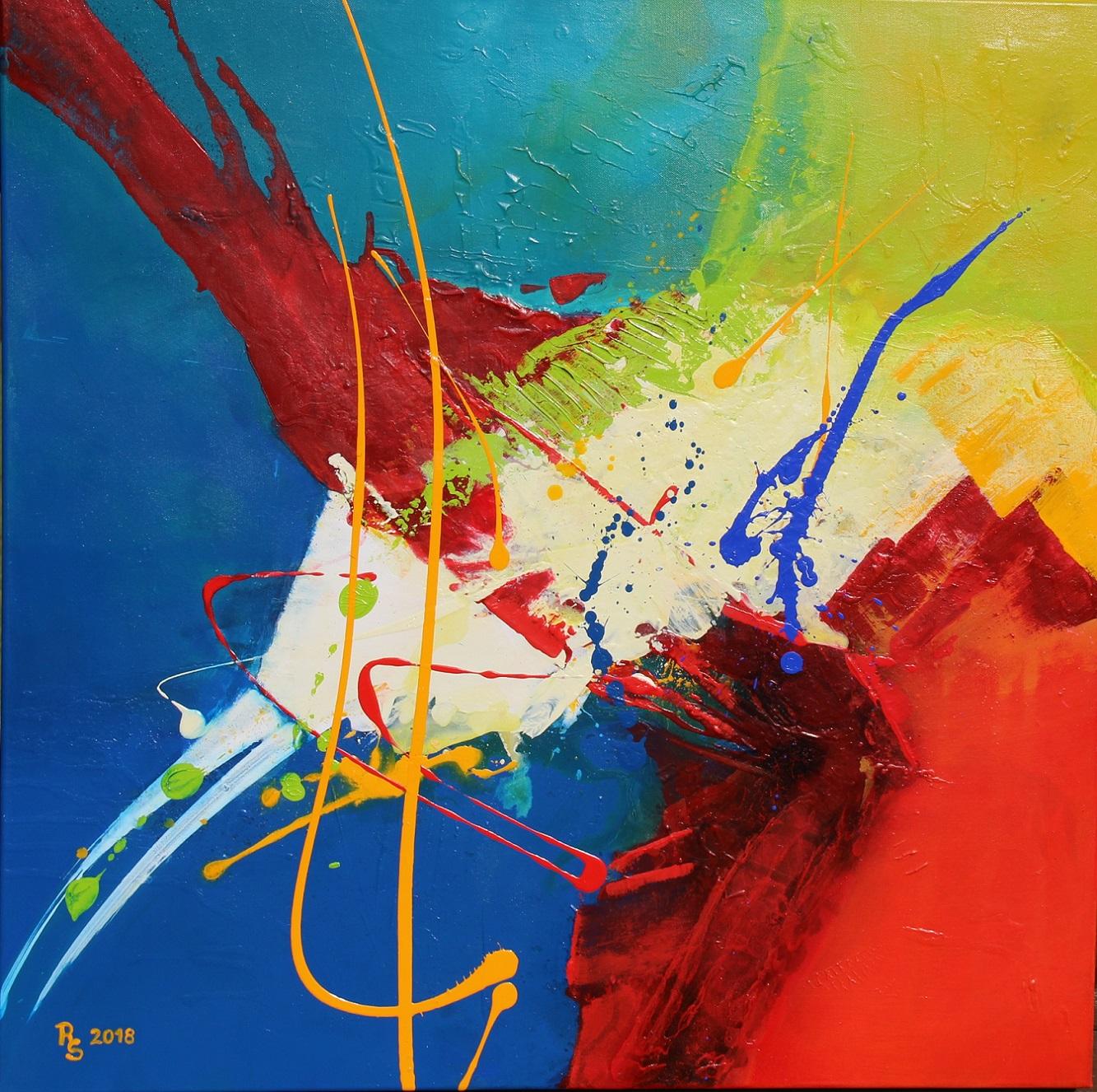 L'Angolo di Marta Lock (IE): Roswitha Schablauer, quando il colore diventa espressione dell'intensit