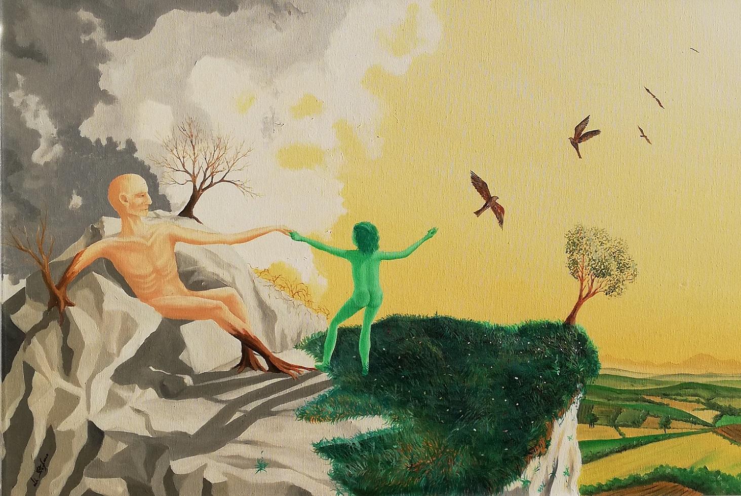 L'Angolo di Marta Lock: Enio Di Stefano, l'indagine metafisica sulla natura e le debolezze umane