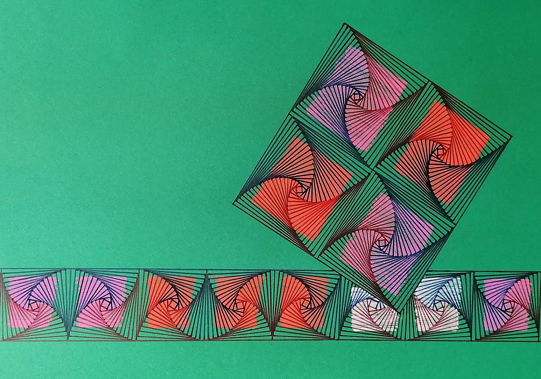 L'Angolo di Marta Lock: La leggera e poetica geometricità dell'Astratto di Luigi Bevacqua
