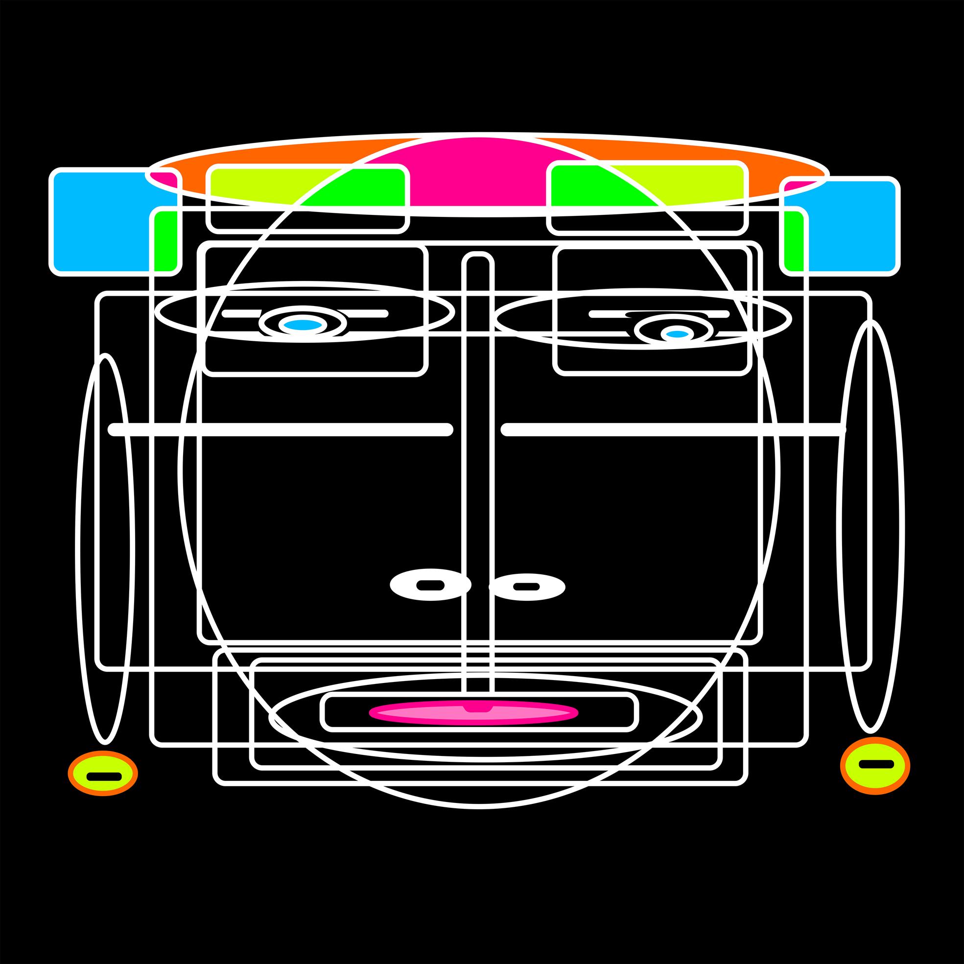 L'Angolo di Marta Lock: La Digital Art in technicolor di Ashblow per ricordare i ruggenti e dinamici