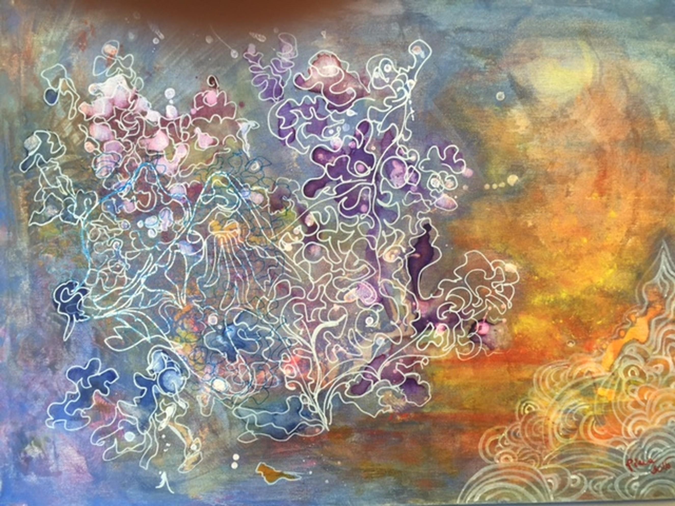 L'Angolo di Marta Lock: La delicatezza dell'indefinito nelle armoniose opere di Piera Bachiocco