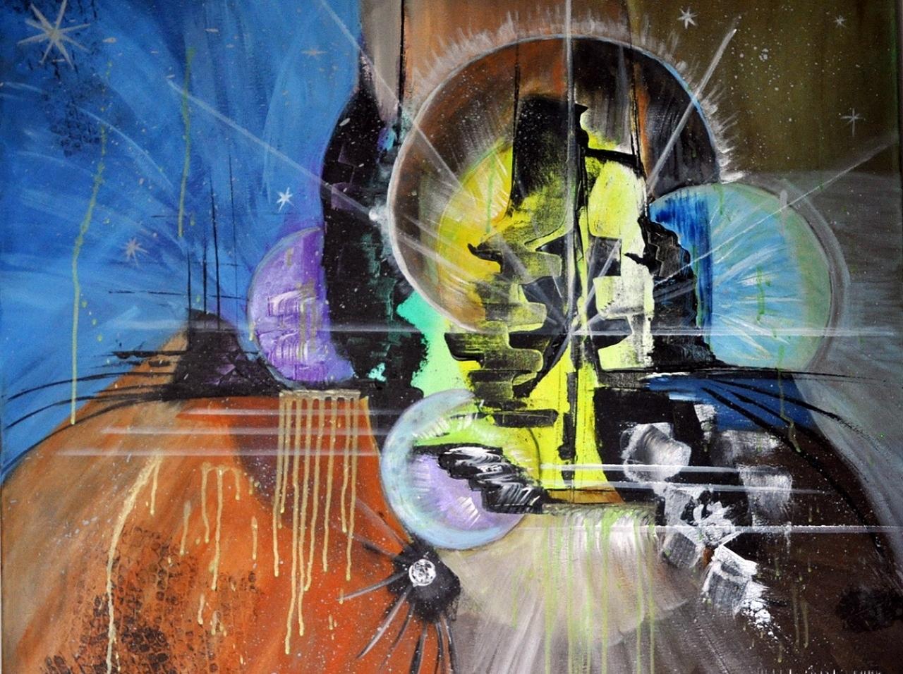 L'Angolo di Marta Lock (IE): La convivenza tra figurazione e astrazione nell'Action Painting di Blan