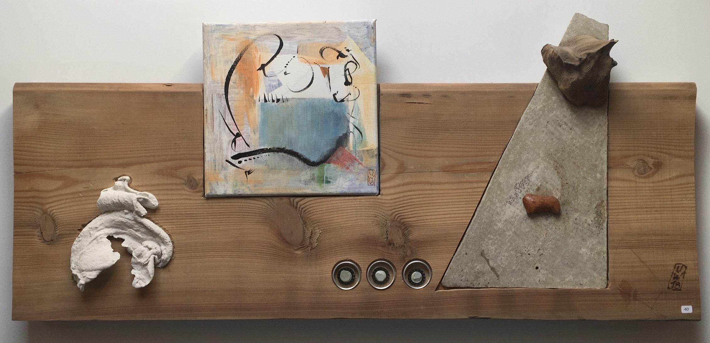 L'Angolo di Marta Lock (IE): La materia incontra l'espressione nelle opere solide di Ulrich Wallner