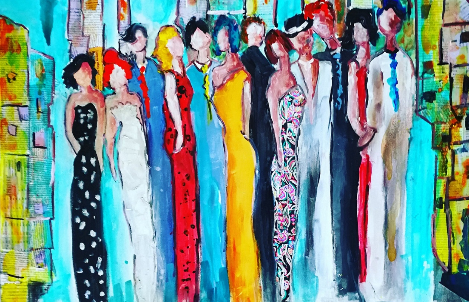 L'Angolo di Marta Lock: L'importanza della moltitudine nell'Espressionismo di Loredana Giannotti