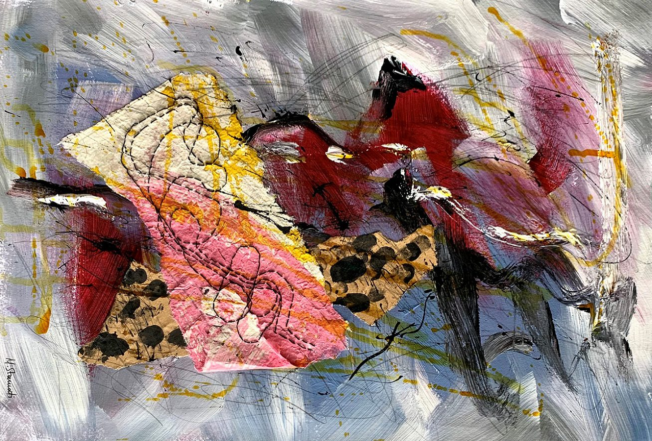 L'Angolo di Marta Lock: Il viaggio nell'irrazionale dell'Espressionismo Astratto di Maria Stamati