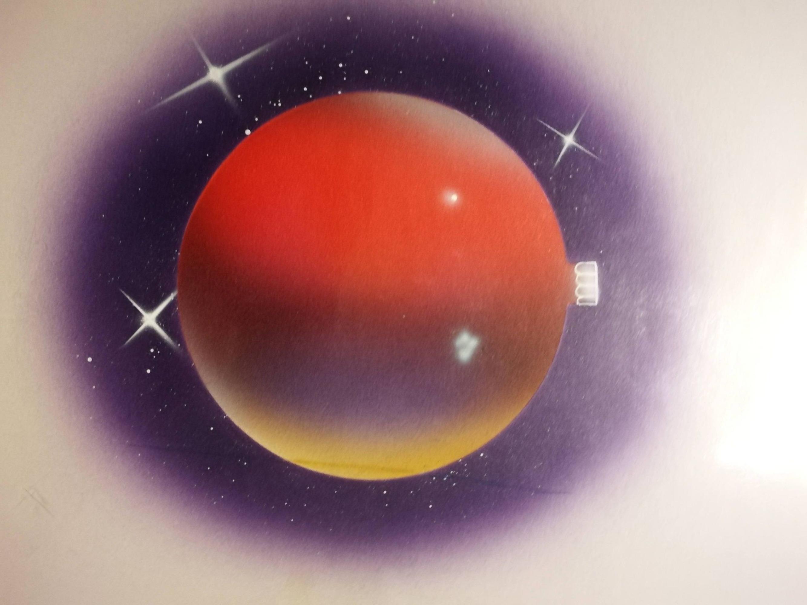 L'Angolo di Marta Lock: La tecnica dell'Aerografia di Harald Wiesner, in bilico tra Astrattismo Geom